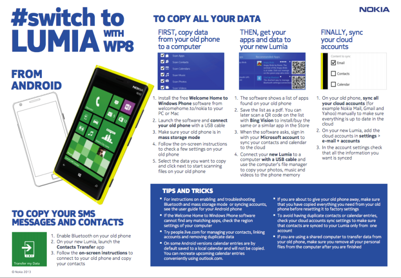 How to #Switch to Lumia Windows Phone from Android
